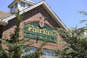 Fairfax Estates neighborhood sign