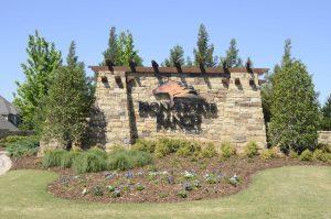 Iron Horse Ranch entrance in Edmond