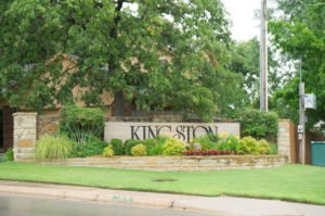 Kingston Addition neighborhood sign