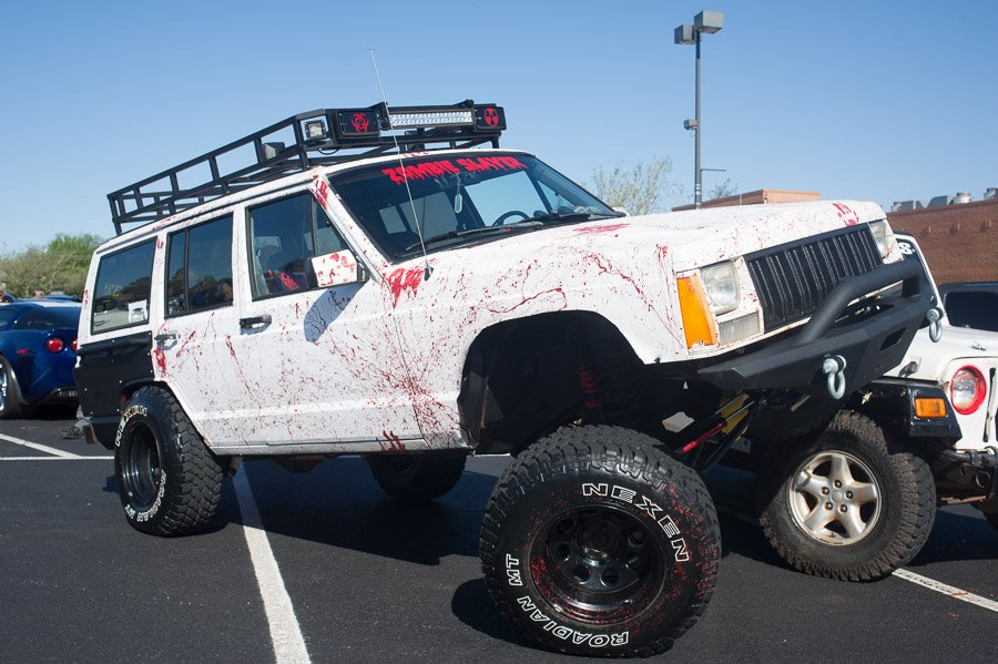 Might was well park your Jeep with the front tire on your buddy's Jeep.