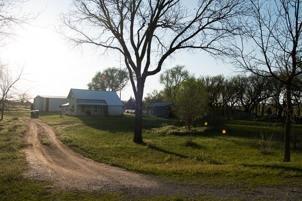 Oklahoma ghost town of Phroso is nothing more than a couple of houses and a spot on a map.