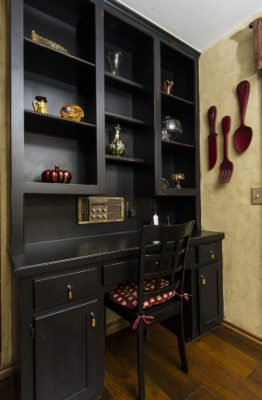 Paint furniture black adds a simple, clean, and always classic look to your home when you are ready to sell.