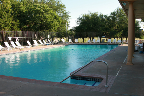 The Fenwick swimming pool is the perfect place for kids to hang out during the summer.