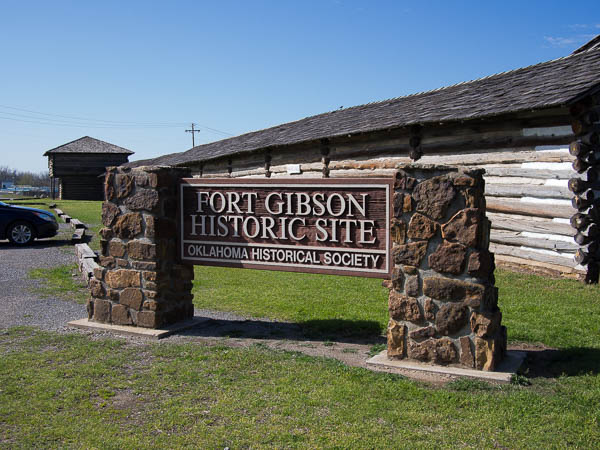 The Fort Gibson Historic Site is maintained by the Oklahoma Historical Society. It is a great place to bring the kids and spend a couple of hours exploring military life in the 1800's.