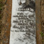 Gravestone for Sophia Pitchlynn has the oldest known gravestone in Oklahoma.