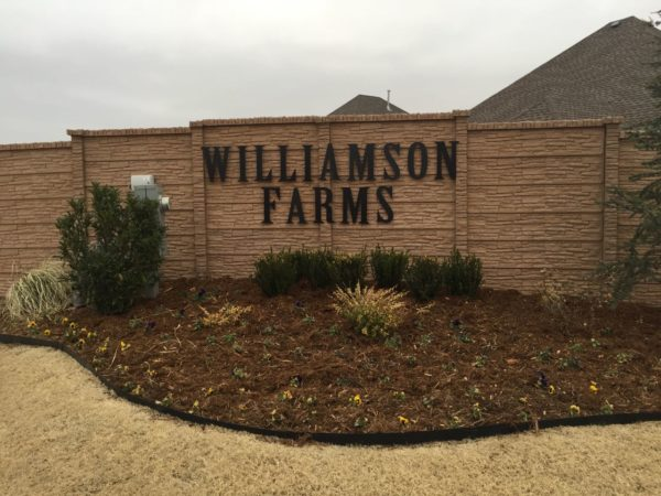 Williamson Park is conveniently located just off I-44 and SW 119th Street in far southwest Oklahoma City.