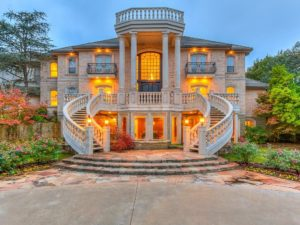 This is a typical home you might see for sale in Oakdale Farms in east Edmond near Arcadia Lake.
