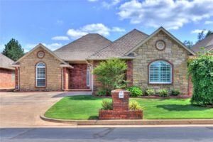 Typical home for sale in Blue Quail Ridge neighborhood of OKC