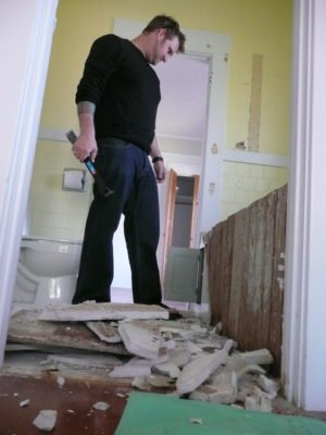 Decide you want to replace your bathroom tub? If you own your own home, YOU get to make that choice. And do the work if you choose.