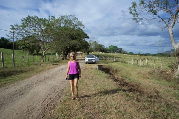 We certainly like traveling down dirt roads in unusual places. This was a very remote road in Costa Rica.