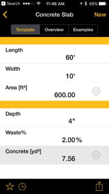 You can easily calculate how much concrete to order when pouring a slab.