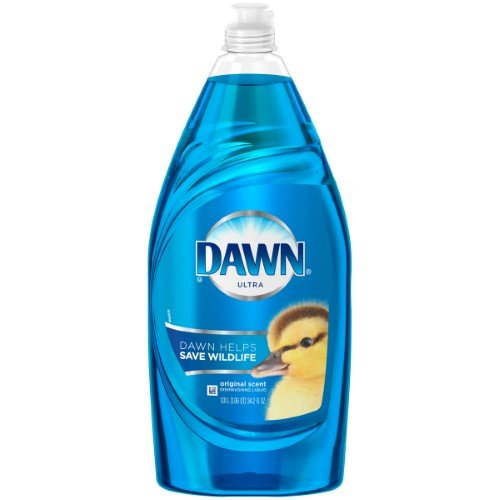 According to professional window cleaner Tim Jarvis, Dawn Ultra is the best choice for cleaning stubborn windows.